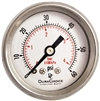 "DuraChoice PB158B-060 Oil Filled Pressure Gauge, 1-1/2"" Dial"