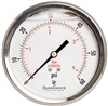 "DuraChoice PB404B-060 Oil Filled Pressure Gauge, 4"" Dial"