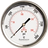 "DuraChoice PB404B-K03 Oil Filled Pressure Gauge, 4"" Dial"