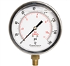 "DuraChoice PB404L-160 Oil Filled Pressure Gauge, 4"" Dial"