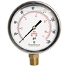 "DuraChoice PB405L-160 Oil Filled Pressure Gauge, 4"" Dial"