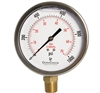 "DuraChoice PB405L-K01 Oil Filled Pressure Gauge, 4"" Dial"