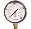 "DuraChoice PB405L-K02 Oil Filled Pressure Gauge, 4"" Dial"