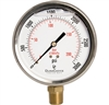 "DuraChoice PB405L-K03 Oil Filled Pressure Gauge, 4"" Dial"
