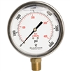 "DuraChoice PB405L-K06 Oil Filled Pressure Gauge, 4"" Dial"
