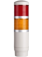 Menics PME-2FF-RY 2 Tier LED Tower Light, Red/Yellow