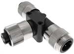 Mencom PMIN Series 3 Pole T Adapter - PMIN-30MFF-T