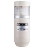 Menics PRE-120-C 1 Stack LED Tower Light, Clear