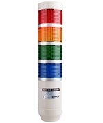 Menics PRE-410-RYGB 4 Stack LED Tower Light, Red Yellow Green Blue