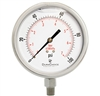"DuraChoice PS404L-100 Oil Filled Pressure Gauge, 4"" Dial"