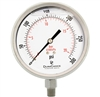 "DuraChoice PS404L-300 Oil Filled Pressure Gauge, 4"" Dial"