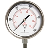 "DuraChoice PS404L-500 Oil Filled Pressure Gauge, 4"" Dial"