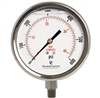 "DuraChoice PS404L-600 Oil Filled Pressure Gauge, 4"" Dial"