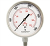 "DuraChoice PS404L-K05 Oil Filled Pressure Gauge, 4"" Dial"