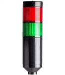 Menics PTE-A-2FF-RG-B 2 Tier LED Tower Light, Red/Green