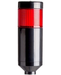 Menics PTE-AF-102-R-B 1 Tier LED Tower Light, Red