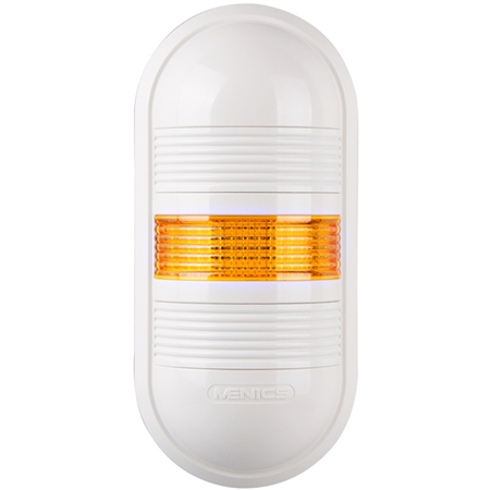 Menics PWE-1FF-Y 1 Tier LED Tower Light, Yellow