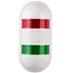 Menics PWE-202-RG 2 Tier LED Tower Light, Red/Green