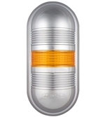 Menics PWEC-102-Y 1 Tier LED Tower Light, Yellow