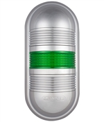Menics PWEC-1FF-G 1 Tier LED Tower Light, Green
