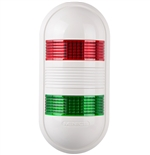 Menics PWEF-2FF-RG 2 Tier LED Tower Light, Red/Green