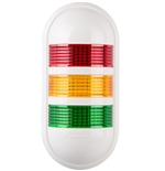 Menics PWEF-301-RYG 3 Tier LED Tower Light, Red/Yellow/Green