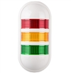 Menics PWEF-302-RYG 3 Tier LED Tower Light, Red/Yellow/Green