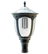 Remphos 20W LED Solar Post Top Light, 4000K