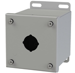 Saginaw Extra Deep Push Button Box, 1 Position, 30.5mm