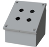 Saginaw Sloped Front Push Button Box, 4 Position, 2x2, 22.5mm
