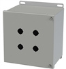 Saginaw Hinged Push Button Box, 4 Position, 22.5mm