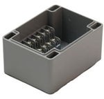 LiteCycle 6 Position Aluminum 12 Terminal Box Enclosure