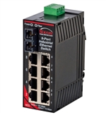 Sixnet 9 Port Industrial Ethernet Switch - SL-9ES-2SC