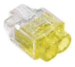 Clear Yellow 2 Position SPEED-E Connector