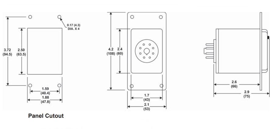Macromatic TCF8D100 Over Temperature & Seal Leak Relay, 24V