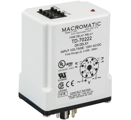 Macromatic TD-70222 Time Delay Relay