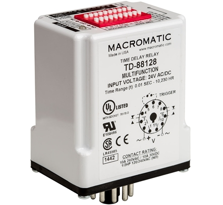 Macromatic TD-88121 Time Delay Relay