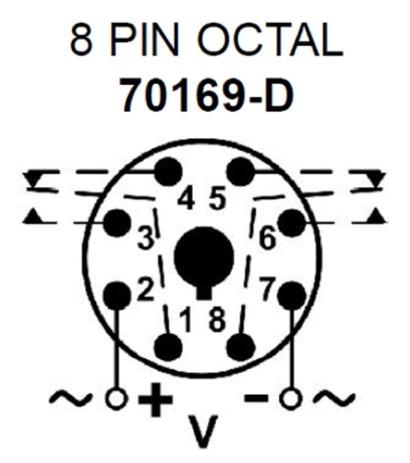 Macromatic TR-60621 True Off Delay 240V Time Delay Relay on macromatic alternating relay, abb alternating relay, delay timer relay, macromatic phase monitor relay,