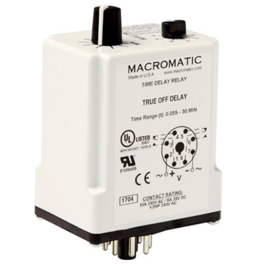 Macromatic TR-60628 24V Time Delay Relay