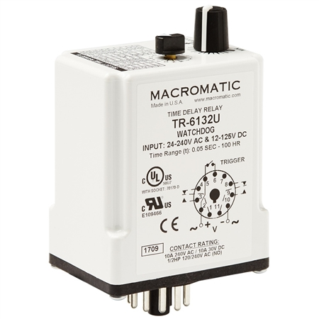 Macromatic TR-6132U Time Delay Relay