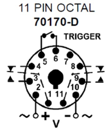 Macromatic Tr 61622 Off Delay Time Delay Relay