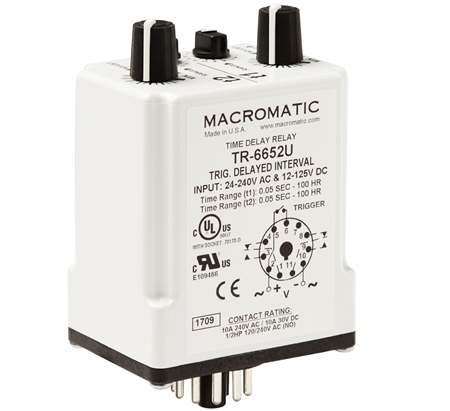 Macromatic TR-6652U Time Delay Relay