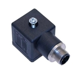 Omal Solenoid Valve Connector Form A to M12,
