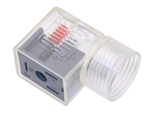 Omal Lighted DIN Valve Connector