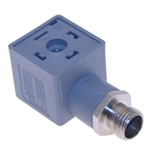 Omal Solenoid Valve Connector 43650 Form A to M12