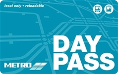 METRO Day Pass Senior Ages 65-69 - Discount