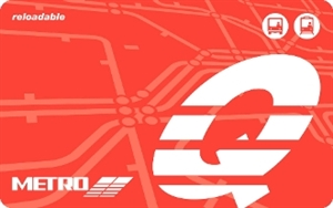 METRO Q® Fare Card Senior Ages 65-69; 70+ Ride Free - Discount