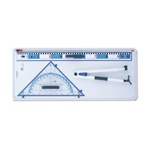 Set of Drawing Instruments for Whiteboard
