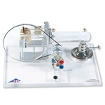 Transparent Stirling Engine