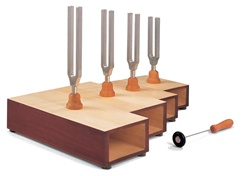 Four C-major Tuning Forks